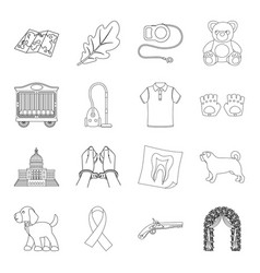 Travel cleaning fashion and other web icon in vector