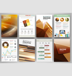 brown creative business backgrounds and abstract vector image