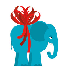 elephant is big gift giant african animals and vector image