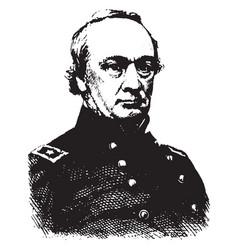 general henry w halleck vintage vector image