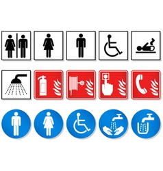 Pictograph sign vector
