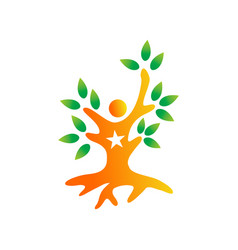 success logo design graphic template vector image