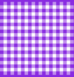 buffalo plaid proton purple tartan scottish cage vector image