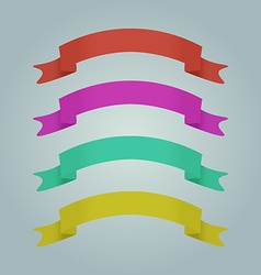 Festive ribbon for printing or banners vector
