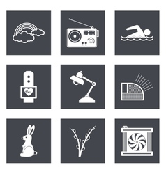 Icons for Web Design set 25 vector