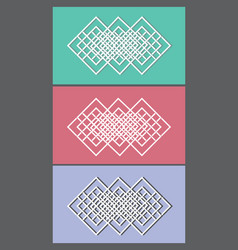 linear emblem vector image