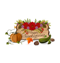 Thanksgiving day design vector