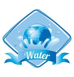 Water concept vector