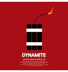Dynamite vector image