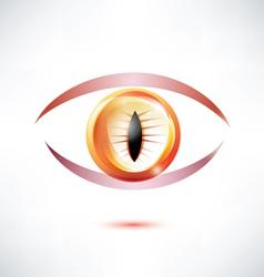 snake eye vector image vector image