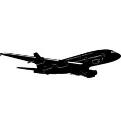 A-380 jetliner vector
