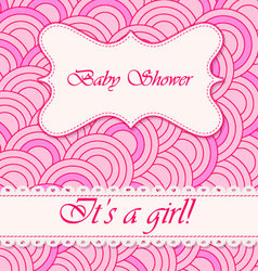 Baby-shower-circle-pattern-girl vector