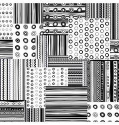 Backgrounds collage vector