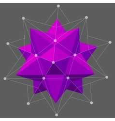 Dodecahedron-Icosahedron compound figure for your vector image