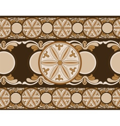 Ethnic abstract ornament pattern vector