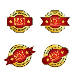 High Security Best Quality Logo for pattern vector image
