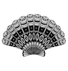 seashell entangle vector image