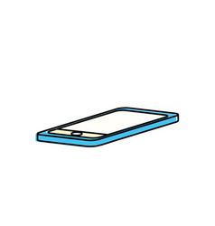 Technology smartphone to electronic communication vector