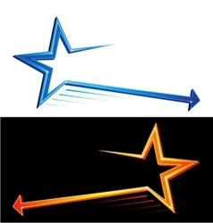 Star symbols vector image vector image