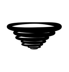 whirlwind vector image