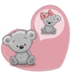 Dreaming Bear vector image