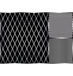 Metal grill seamless vector