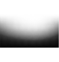 2d abstract bw halftone wave simple background vector image