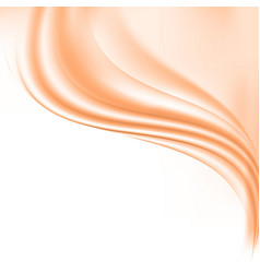 abstract background smoothsilky waves vector image