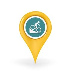 Biking Location vector
