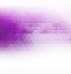 color abstract geometric banner vector image