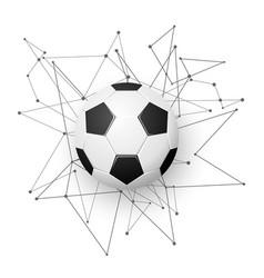 Football emblem template vector