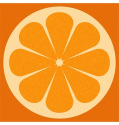 orange surface vector image