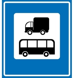 Road Signs - European vector