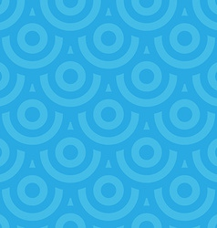 Seamless pattern of overlayed target circles vector image
