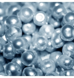 Blue Pearls texture vector image