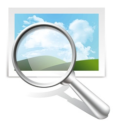 Search image vector image vector image