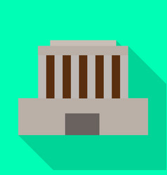 Building and mausoleum logo vector