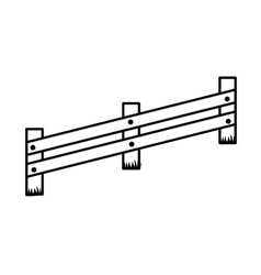 Fence icon Barrier design graphic vector image