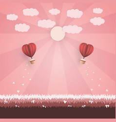 Happy valentine day concept vector