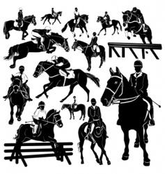 Horse equestrian vector