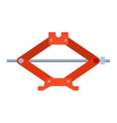 Car jack shot steel repair service vector image vector image