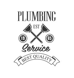 best quality plumbing repair and renovation vector image vector image