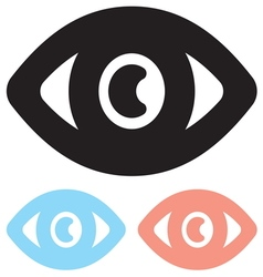 Eye icon1 vector image vector image