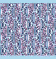 abstract seamless pattern line ornament swirl vector image