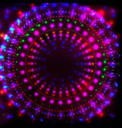 disco night banner1 vector image vector image