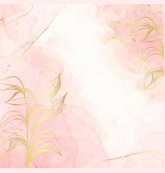 abstract dusty blush liquid watercolor background vector image