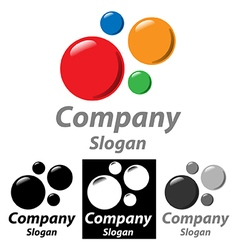 Company Logo Circle vector