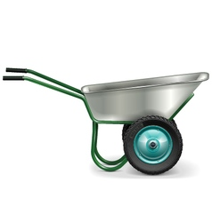 Construction Wheelbarrow vector