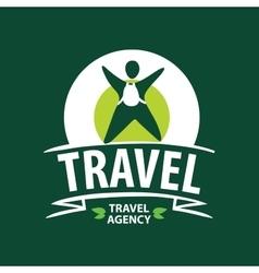 Logo travel vector