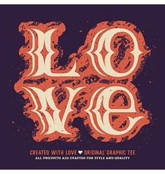 Love 003 vector image